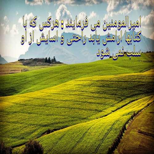 عکس نوشته امام علی غدیر