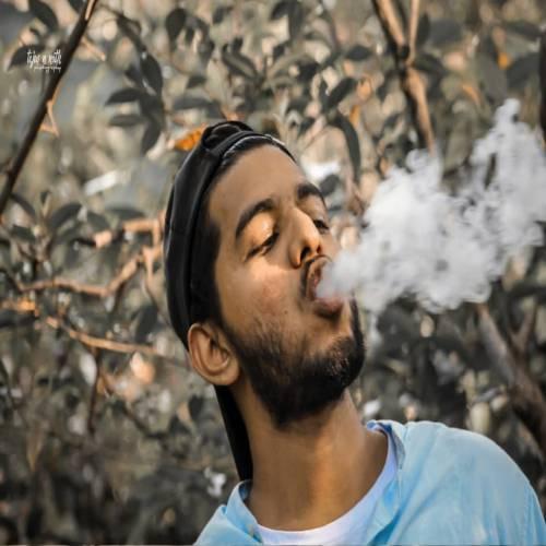 پروفایل پسر با سیگار